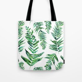 Jungle Ferns Tote Bag