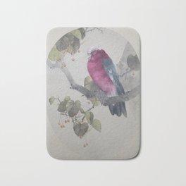 Seitei - Album of Flowers and Birds (1906): Galah on Japanese Linden Bath Mat