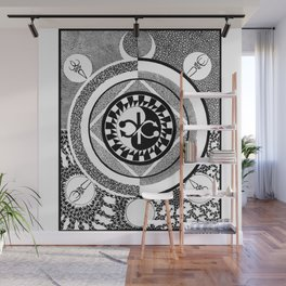 Infinity of Two Wall Mural