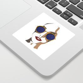View of Fashion Sticker