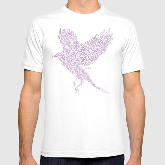 Flight in Swirls T-shirt