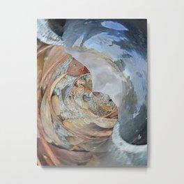 Ice Tube Metal Print