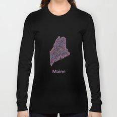 Maine Long Sleeve T-shirt