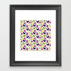 Tropical Toucans Framed Art Print