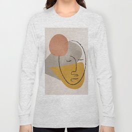 Portrait 3 Long Sleeve T-shirt