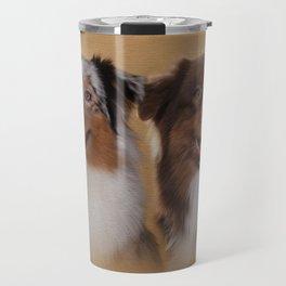 Australian Shepherd  Aussie Travel Mug