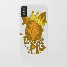 Notorious PIG iPhone Case