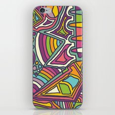 Colourful Chaos iPhone & iPod Skin