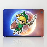 triforce iPad Cases featuring Triforce Hero by Febrian89