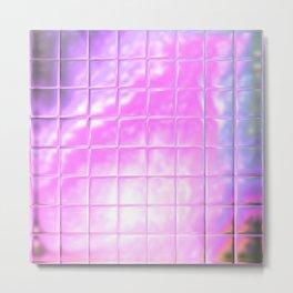 Square Glass Tiles 218 Metal Print