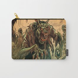 BEWARE THE MUD MUMMIES Carry-All Pouch