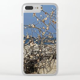 Long Drawn-out Goodbye Clear iPhone Case
