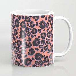leopard pattern in neon color Coffee Mug