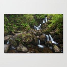 Torc Waterfall,Killarney Canvas Print