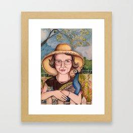 Flannery Framed Art Print