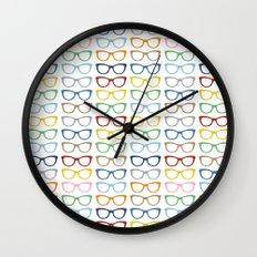 Rainbow Specs Wall Clock