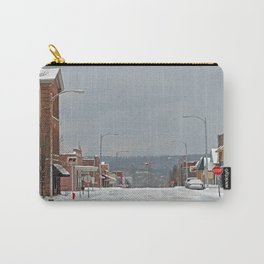 Snow in a Small City Carry-All Pouch