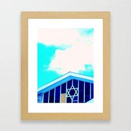 Blewish Framed Art Print