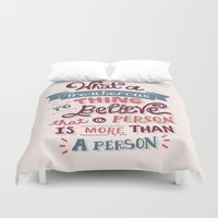 paper towns Duvet Covers featuring Paper Towns: Treacherous Thing by Risa Rodil