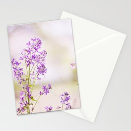 Purple Nature Photography, Lavender Floral Botanical Photography, Light Purple Nature Art Stationery Cards