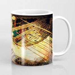pariS. : Eiffel Tower & Ferris Wheel Coffee Mug