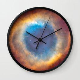 Helix Nebula, NGC 7293 Wall Clock