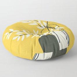 Abstract Vases Floor Pillow