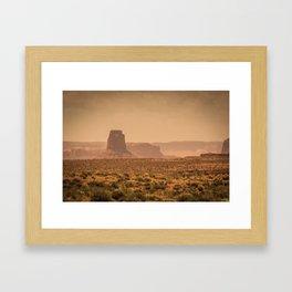 Desert Warmth Framed Art Print