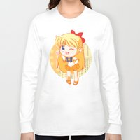 sailor venus Long Sleeve T-shirts featuring Sailor Venus by strawberryquiche