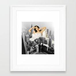 Urban Nymph Framed Art Print