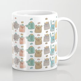 Pattern Project #12 / Animal Kings Coffee Mug