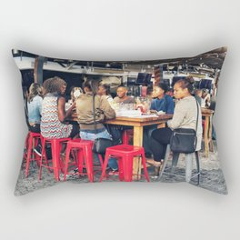 Lunch together Rectangular Pillow