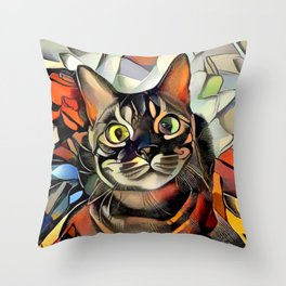 Hooman Spoil Me! Throw Pillow