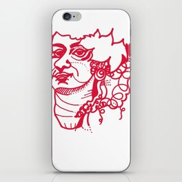 avant garde illustrations 1 iPhone Skin