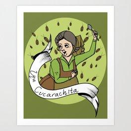 Una Cucarachita Art Print