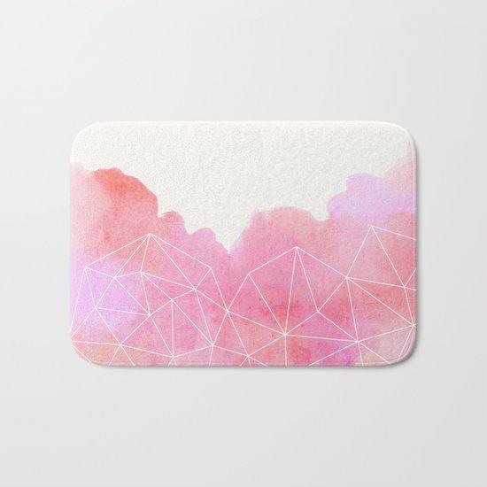 Pink Cloud Bath Mat