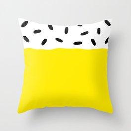 Sunshine Sprinkles Throw Pillow