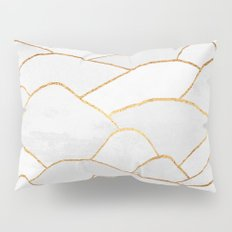 White Hills Pillow Sham