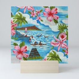 Hawaiian Scenes Mini Art Print