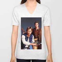 The Captain and The Scoundrel Unisex V-Neck