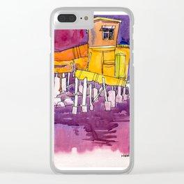 20161231 Tai 0 Tokyo Pier 2 Clear iPhone Case