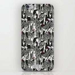 GIRAFFE / pattern pattern iPhone Skin