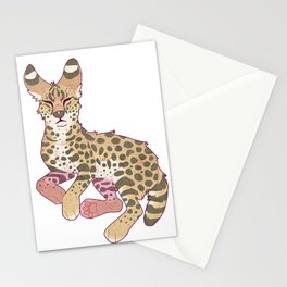 Serval Stationery Cards