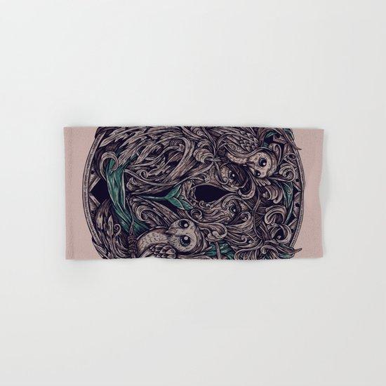 Flower Hand & Bath Towel