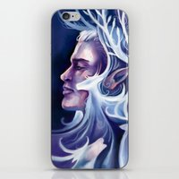 thranduil iPhone & iPod Skins featuring Thranduil by MelColley