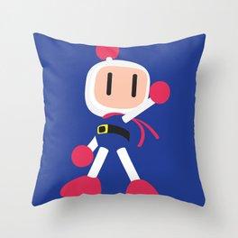 Bomberman - Minimalist - Nintendo Throw Pillow