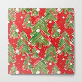 Christmas tree 2 Metal Print