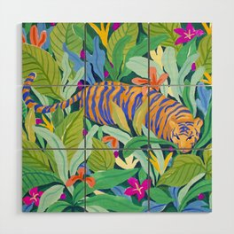 Colorful Jungle Wood Wall Art