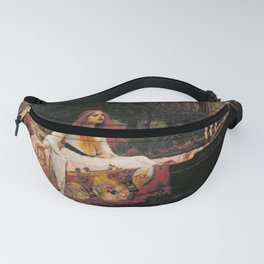 THE LADY OF SHALLOT - WATERHOUSE Fanny Pack