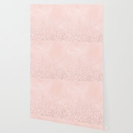 Blush Glitter Pink Wallpaper
